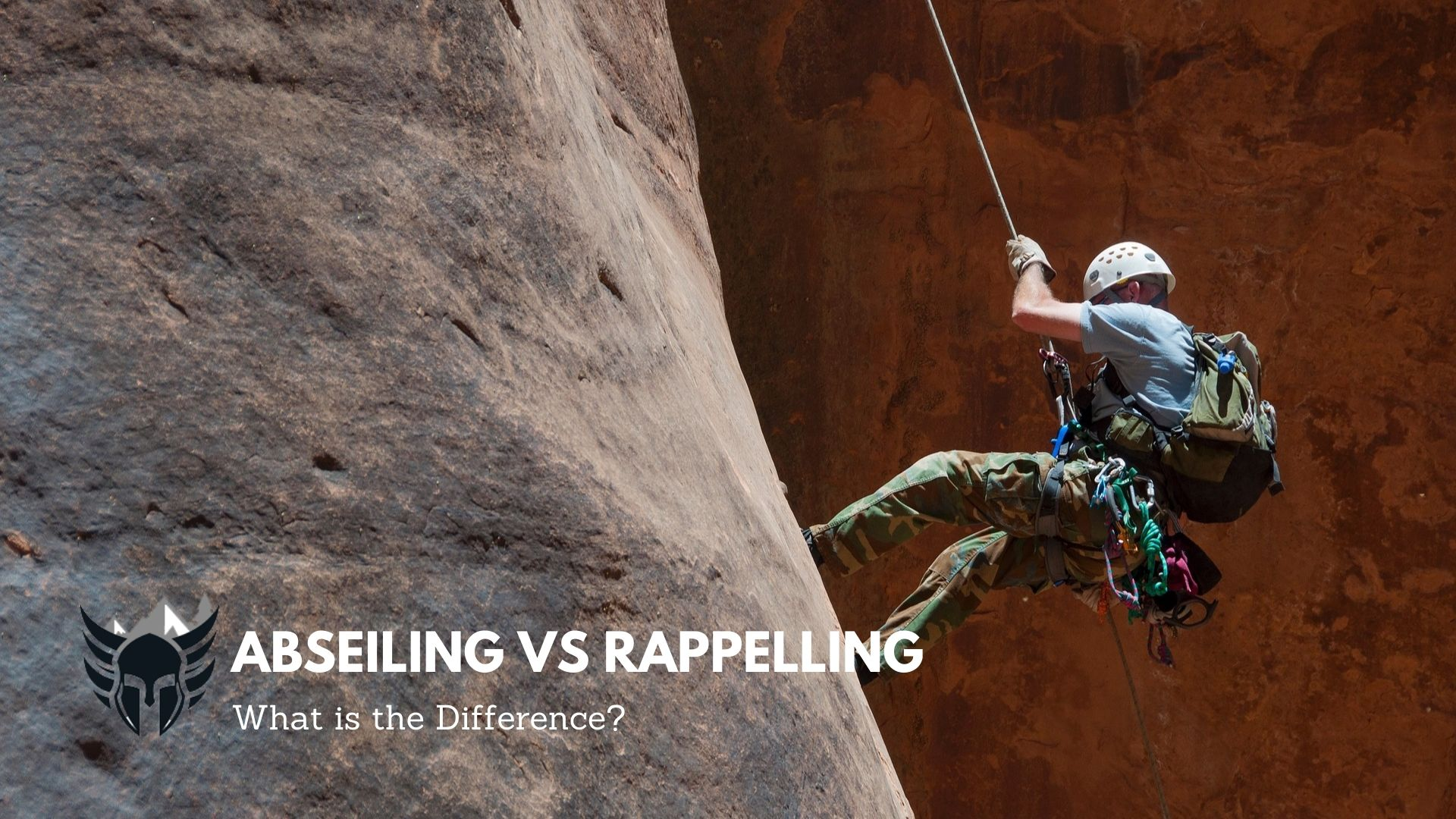 Abseiling Vs Rappelling