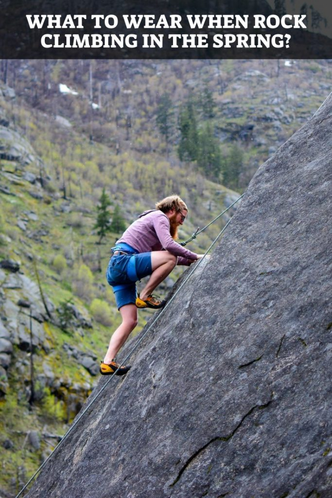 Rock Climbing In The Spring