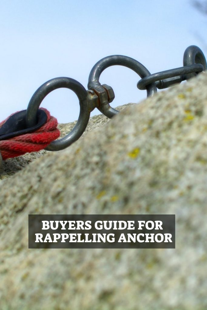 Rappelling Anchor