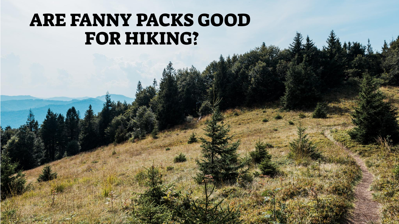 Are Fanny Packs Good For Hiking