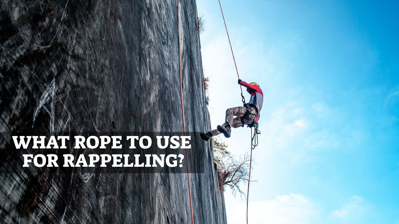 What Rope To Use For Rappelling